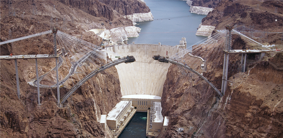Hoover Dam Bypass | photo credit to the Federal Highway Administration, Central Federal Lands Highway Division (FHWA/CFLHD)