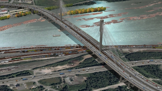 Port Mann Highway Project - Barker Steel Mid-Atlantic